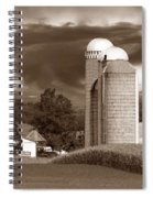 Sunset On The Farm S Spiral Notebook