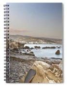 Sunset On The Mediterranean Spiral Notebook