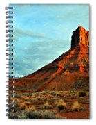 Sunset On The Mesa Spiral Notebook