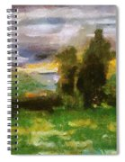 Sunset On The Road - The Highway Series Spiral Notebook