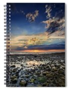 Sunset Over Bound Brook Island Spiral Notebook