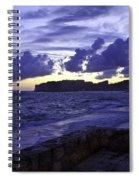 Sunset Over Dubrovnik Spiral Notebook