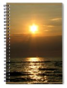 Sunset Over Lake Erie 3 Spiral Notebook