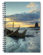 Sunset Over The Admiral Spiral Notebook