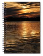 Sunset Over The Lake - 3rd Place Win Spiral Notebook