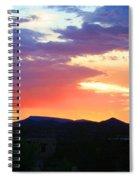 Sunset Spiral Notebook
