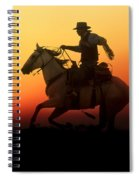 Sunset Romance Spiral Notebook