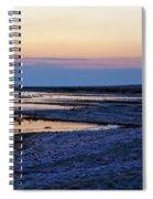 Sunset Salton Sea North Spiral Notebook