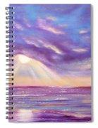 Sunset Spectacular Spiral Notebook