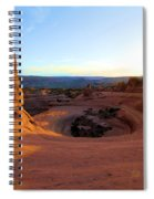 Sunset Starburst Spiral Notebook