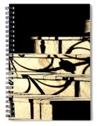 Sunset Steps Spiral Notebook