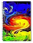 Sunset Swirl Spiral Notebook