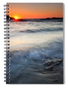 Sunset Uncovered Spiral Notebook