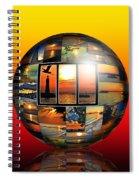Sunsets Spiral Notebook
