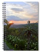 Sunsetting Over Costa Rica Spiral Notebook
