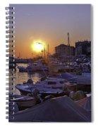 Sunsetting Over Rovinj 1 Spiral Notebook