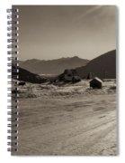 Sunshine At Hatcher Pass Spiral Notebook