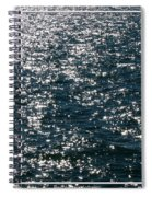 Sunshine Sparkling On Lake Erie Spiral Notebook