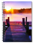 Sunup Over Rock Creek Spiral Notebook