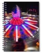 Super Bowl Three Spiral Notebook