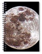Super Moon 2012 Spiral Notebook