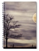 Super Moon Spiral Notebook