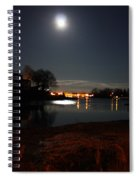 Super Moon Night   2 Spiral Notebook