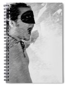 Superboy Of Peachtree Black And White Spiral Notebook
