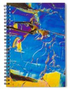 Superconductor Crystal Spiral Notebook