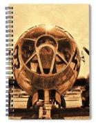 Superfortress Spiral Notebook