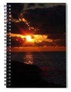 Superior Sunset Spiral Notebook