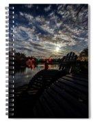 Supermoon Spiral Notebook