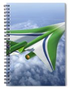 Supersonic Aircraft Design Spiral Notebook