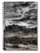 Superstition Saguaro  Spiral Notebook
