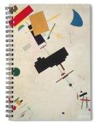 Suprematist Composition No 56 Spiral Notebook