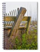 Surf City Chair Spiral Notebook