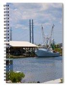 Surf City View Spiral Notebook