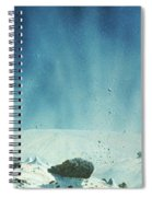 Surface Of A Comets Nucleus Spiral Notebook
