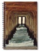 Surfer's Labyrinth  Spiral Notebook