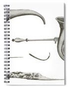 Surgical Instruments, 18th Century Spiral Notebook
