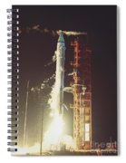 Surveyor 3 Launch Spiral Notebook