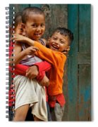 Survival Of The Fittest Spiral Notebook