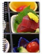 Sushi Art Spiral Notebook