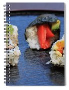 Sushi California Roll Spiral Notebook