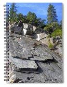 Suspended Blocks Spiral Notebook