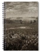 Suspended Over The Wetlands Spiral Notebook