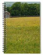 Swaledale Buttercup Meadow Spiral Notebook