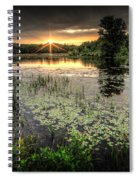 Swamp Sunrise Spiral Notebook