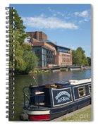Swan Theatre  Spiral Notebook