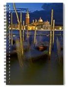 Swaying Gondolas Spiral Notebook